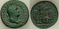 Ancient Coins - Galba (AD 68-69). AE sestertius (34mm, 22.51 gm, 7h). Fine,