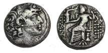 Ancient Coins - SELEUKID KINGS of SYRIA. Philip I Philadelphos. Circa 95/4-76/5 BC. AR Tetradrachm (25mm, 14.7 gm).