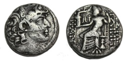 Ancient Coins - SELEUKID KINGS of SYRIA. Philip I Philadelphos. Circa 95/4-76/5 BC. AR Tetradrachm (25mm, 14.7 gm).