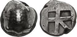 Ancient Coins - ISLANDS off ATTICA, Aegina. Circa 456/45-431 BC. AR Stater (17mm, 12.24 g, 5h). Land tortoise