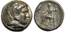 Alexander III. 336-323  BC. AR Tetradrachm (17.1  gm, 27 mm)