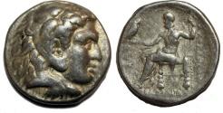 Ancient Coins - Alexander III. 336-323  BC. AR Tetradrachm (17.1  gm, 27 mm)