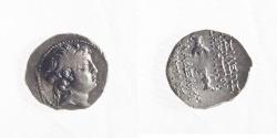 Ancient Coins - SELEUKID KINGS. Demetrios II Nikator. 145-138 BC. Drachm (4.13g, 19mm)