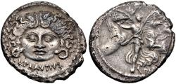 Ancient Coins - Moneyer issues of Imperatorial Rome. L. Plautius Plancus. 47 BC. AR Denarius