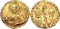 Ancient Coins - John I Zimisces. 969-976. AV Histamenon Nomisma (20mm, 4.02 g, 6h). Constantinople mint.