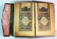 World Coins - 18th/19th century Turkish Illuminated Quran Book, Koran. signed and dated AH 1235
