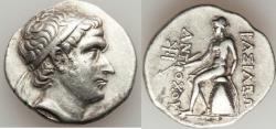 Ancient Coins - SELEUCID KINGDOM. Antiochus III the Great (222-187 BC). AR tetradrachm (16.65 gm).