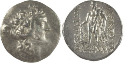 Ancient Coins - ISLANDS off THRACE, Thasos. Circa 168/7-148 BC. AR Tetradrachm