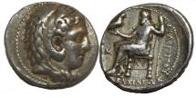 Alexander III. 336-323  BC. AR Tetradrachm (17.0  gm, 29 mm)