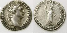 Ancient Coins - DOMITIAN. 81-96 AD. AR Denarius (18mm, 3.22 gm). Struck 92-93 AD