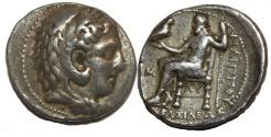 Ancient Coins - Ancient KINGS of MACEDON. Philip III. 323-317 BC. AR Silver Tetradrachm