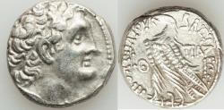 Ancient Coins - PTOLEMAIC EGYPT. Ptolemy XII Neos Dionysos (Auletes) (80-51 BC). AR tetradrachm