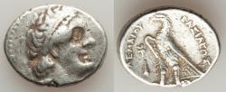 Ancient Coins - PTOLEMAIC EGYPT. Ptolemy II Philadelphus (285/4-246 BC). AR tetradrachm