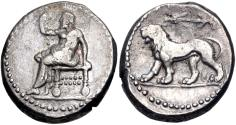 Ancient Coins - SELEUKID EMPIRE. Seleukos I Nikator. 312-281 BC. AR Stater (22mm, 15.89 g, 11h).