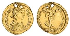 Ancient Coins - Roman Imperial. Eastern Empire. Arcadius (383-408). AV Tremissis. Constantinople,