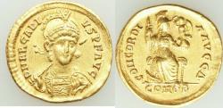 Ancient Coins - Arcadius, Eastern Roman Empire (AD 383-408). AV solidus (20mm, 4.45 gm, 6h). VF,