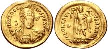 Ancient Coins - Theodosius II. AD 402-450. AV Solidus (21mm, 3.66 g, 6h). Constantinople mint, 3rd officina.