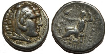Alexander III. 336-323  BC. AR Tetradrachm (17.0  gm, 27 mm)