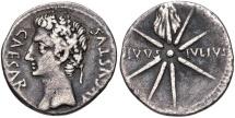 Augustus. 27 BC-AD 14. AR Denarius (19mm, 3.61 g, 5h).