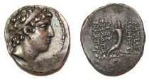 SELEUKID KINGS of SYRIA. Demetrios II 146-138 BC. AR Drachm