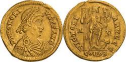 Ancient Coins - Honorius. 393-423 AD. Solidus, 4.47gg. (12h). Ravenna, c. 395-408 AD.