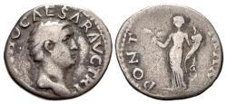 Ancient Coins - Otho. AD 69. AR Denarius (19mm, 2.82 g, 6h). Rome mint.