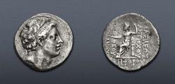 Ancient Coins - SELEUKID EMPIRE. Antiochos IV Epiphanes. 175-164 BC. AR Tetradrachm