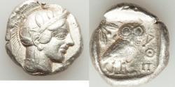 Ancient Coins - ATTICA. Athens. Ca. 440-404 BC. AR tetradrachm (16.95 gm). Choice VF