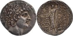 Ancient Coins - Seleucid Kingdom. Antiochus VIII. 121-96 BC. Tetradrachm, 17.04gg. (12h)
