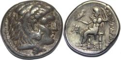 Ancient Coins - MACEDON, Kings of. Alexander III. 336-323 BC. AR Tetradrachm