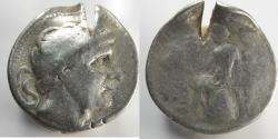 Ancient Coins - SELEUCID KINGDOM. Antiochus II Theos (261-246 BC). AR tetradrachm (29mm, 16.69 gm)