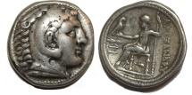 Ancient Coins - Alexander III. 336-323  BC. AR Tetradrachm (16.7  gm, 27 mm)