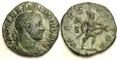 Ancient Coins - Severus Alexander. 222-235 AD. Æ Sestertius (22.84 gm). Struck 231-235 AD.