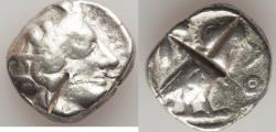 Ancient Coins - ATTICA. Athens. Ca. 440-404 BC. AR tetradrachm (16.79 gm). Fine, test cuts