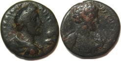 Ancient Coins - JUDAEA, Aelia Capitolina. Antoninus Pius, with Marcus Aurelius as Caesar. CE 138-161. Æ (22mm,