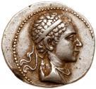 Ancient Coins - Baktrian Kingdom. Euthydemos II. Silver Tetradrachm (16.67 g), ca. 185-180 BC.