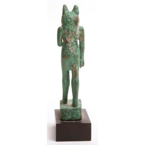 Ancient Coins - Ancient Egyptian Bronze Figure of Anubis c.635 BC.