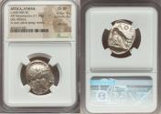 Ancient Coins - ATTICA. Athens. Ca. 440-404 BC. AR tetradrachm (22mm, 17.18 gm, 3h). NGC Choice XF