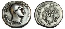 GALBA. 68-69 AD. AR Denarius (19mm, 3.49 gm). Rome mint.