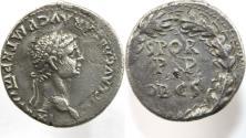 Ancient Coins - Claudius. AD 41-54. Fourrée Denarius ( 2.67 gm). Roman-British imitation. Copying a Rome mint issue