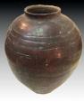 Antique Asian, Ceramic Storage jar