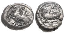 CILICIA, Kelenderis. Circa 430-420 BC. AR Stater NGC