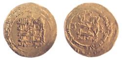 World Coins - Ghaznavids Mahmud of Ghazna (AH 389-421) AV Dinar. 4.79 gm, 24 mm. 401 Nishapur