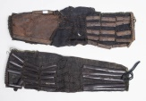 a pair of Shoulder sleeves (kote)date:17th century (edo period or earlier) size;2