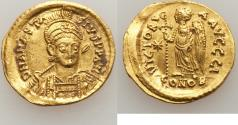 Ancient Coins - Anastasius I (AD 491-518). AV solidus (21mm, 4.47 gm, 6h). XF,