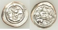 Ancient Coins - SASANIAN. Peroz. 459-484 AD. AR Drachm (4.1 gm)