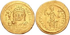 Ancient Coins - Justin II. 565-578. AV Solidus (20mm, 4.46 g, 6h). Constantinople mint, 2nd officina.
