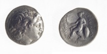 KINGS of THRACE. Lysimachos. 305-281 BC. AR Tetradrachm (29mm, 17.2 gm)