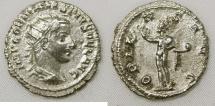 Ancient Coins - GORDIAN III. 238-244 AD. AR Antoninianus (22mm, 4.12 gm). Struck 240-244 AD