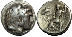 Ancient Coins - Alexander III. 336-323  BC. AR Tetradrachm (16.8  gm, 28 mm)